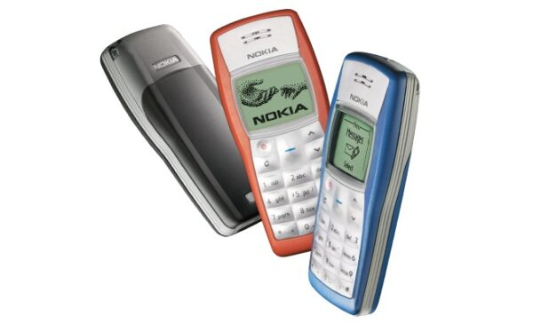 nokia 1100 is one of The best-selling mobile phones ever