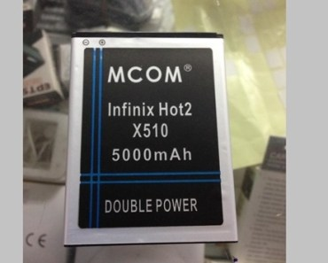 Did you know? There's a 5000mAh battery for the Infinix Hot2 1