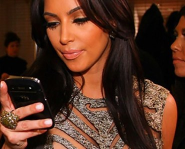 Kim Kardarshian BlackBerry