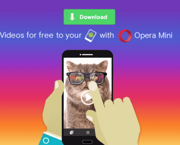 download videos on Opera Mini