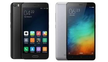 Xiaomi Mi 5 Redmi Note 3