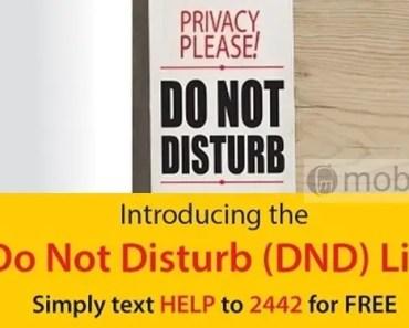 do not disturb 2