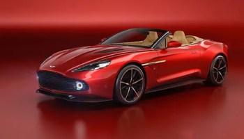 Aston MArtin - Vanquish Zagato Volante front angle