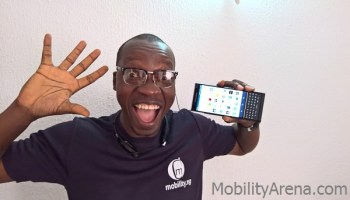 BlackBerry Priv Mr Mo scream