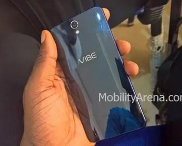 Lenovo Vibe S1 glossy back