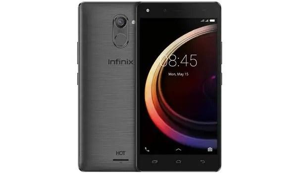 Infinix Hot 4 Pro grey