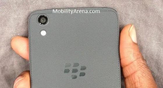 BlackBerry DTEK50 review back