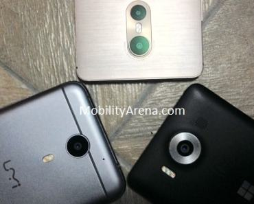 TECNO Phantom 6 vs UMi Plus vs Lumia 950 cameras