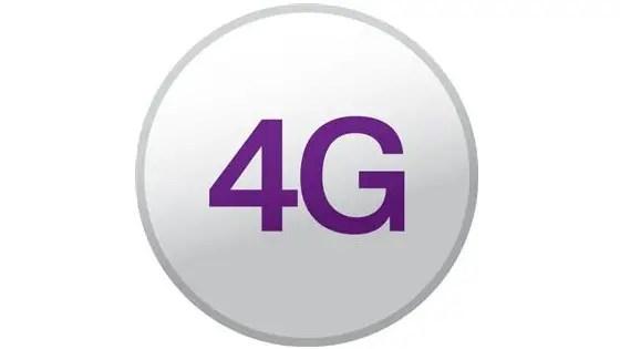 4G logo- first 4G network