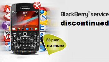 discontinue BlackBerry Internet Service