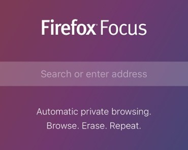 Private browsing with Firefox Focus