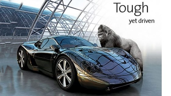 Gorilla Glass for car