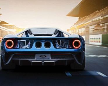 Ford GT Supercar 2017 - this car has more code than a jet aircraft