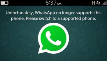 WhatsApp extends shut down date for BlackBerry devices