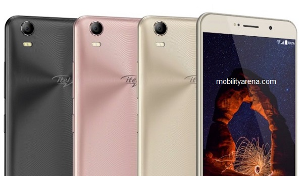 itel S31 colours