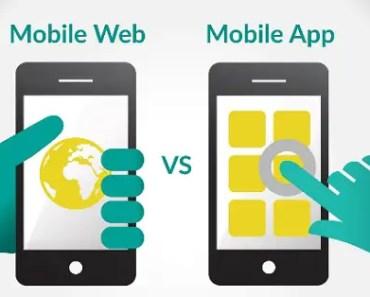 mobile web versus mobile app