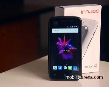 Innjoo X3 with box
