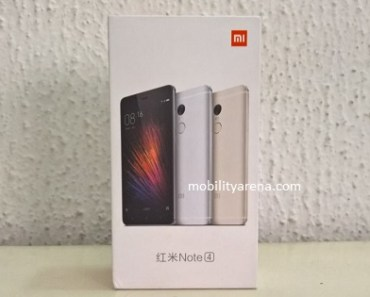 Xiaomi Redmi Note 4 hands-on pack
