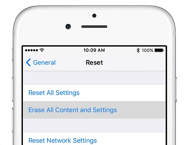 iPhone network problems settings