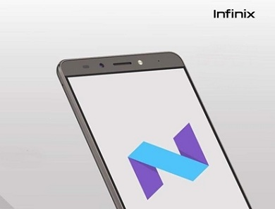 Infinix phone Update