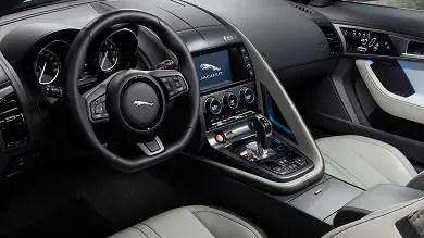 2017 Jaguar F Type dash