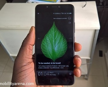 Gionee A1 review in hand