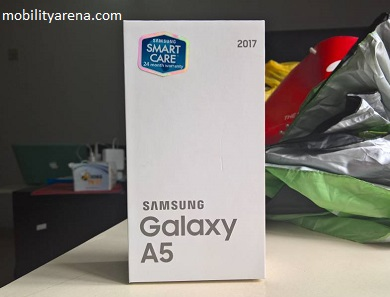 Samsung Galaxy A5 2017 Unboxing - sales pack