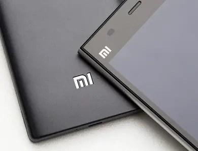 Xiaomi smartphones