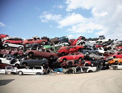 car recycling process