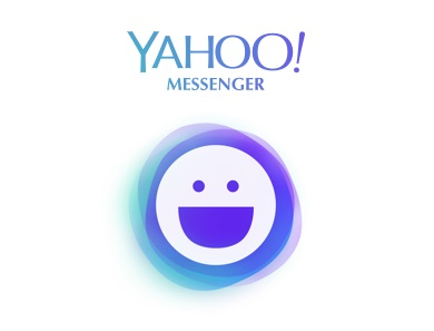 the new Yahoo Messenger app logo