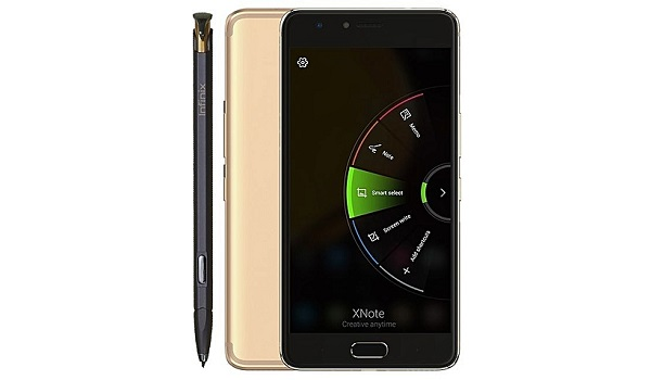 Infinix Note 4 Pro with Infinix Xpen stylus