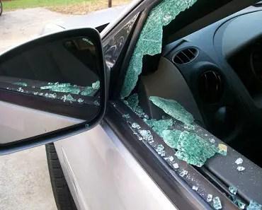 car break-in robbery