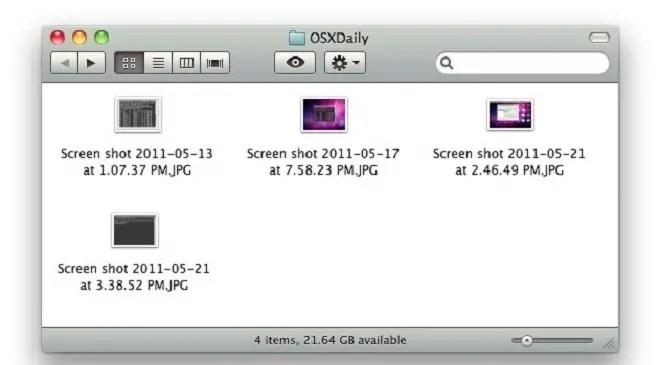mac screenshot