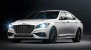 The 2018 Genesis G80 is the Hyundai Genesis with a new design