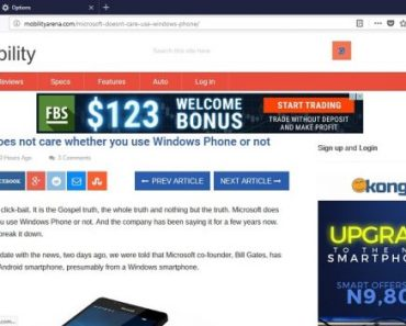 Firefox Quantum Browser for Windows PC