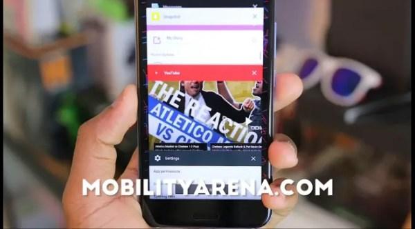 HTC U11 Review Multitasking