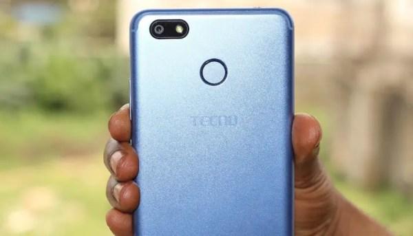 TECNO Spark blue best 5MP selfie camera