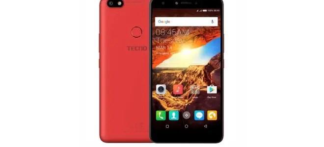TECNO Spark K7 Red