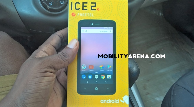Freetel ICE 2 Hands-on - phone pack