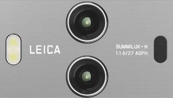 Huawei Mate 10 Pro camera module