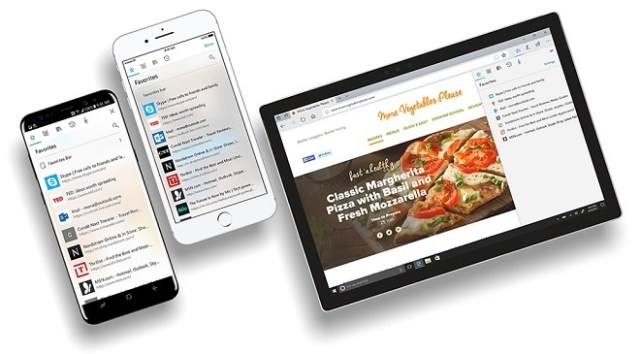 Microsoft Edge preview for Android and iOS