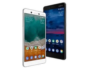 Nokia 7 white black