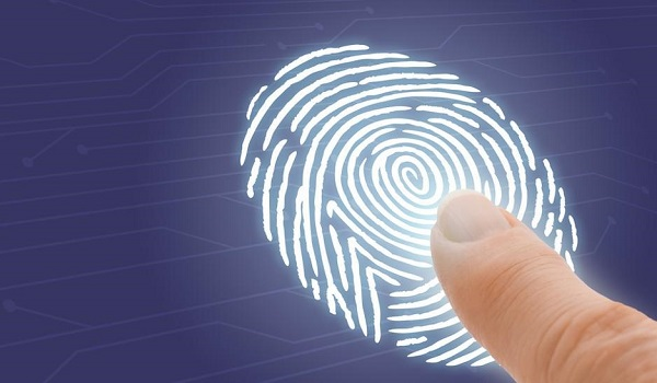 Next Phantom Device - front placed fingerprint scanner