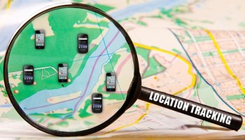 android smartphone tracks