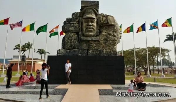 jjt park block monument flag pavilion