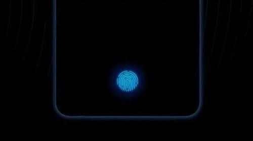 first in-display fingerprint scanner vivo