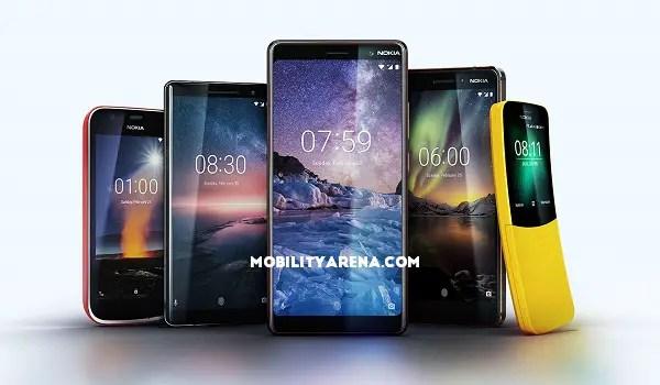 Nokia Mobile 2018 lineup