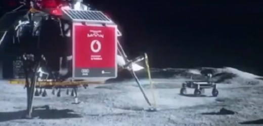 lunar 4G mobile network