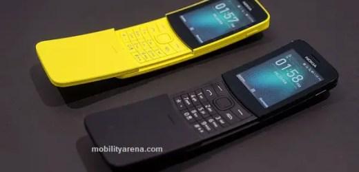 nokia 8110 4G 2018 cheapest 4g phones in Nigeria