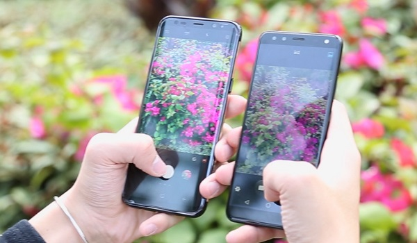 LEAGOO S8 VS Samsung S8 Plus